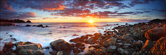 Shelly Morning (Mark-of-Cain) Tags: panorama sunrise pano australia nsw filters hitech portmacquarie gnd
