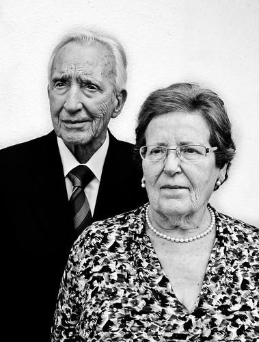 Mis abuelos: 60 aniversario de casados