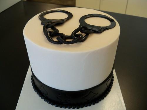 Handcuff Cake Topper