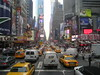 Times Square, New York (SamMeyrick27) Tags: new york city newyork cab taxi busy rush timessquare rushhour congestion yahoo:yourpictures=skyline