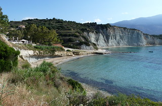 spartia beach from vigla
