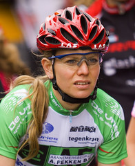 Ronde van Ouderkerk aan de Amstel 2010 (www.hamperium.com) Tags: ladies girls woman holland green sports netherlands girl amsterdam bike lady female cycling concentration women femme cycle biking athletes actions rabobank ouderkerkaandeamstel tegenkracht