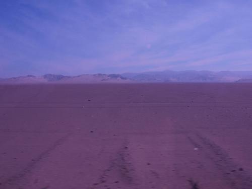 Desierto  desde el autobús (3)