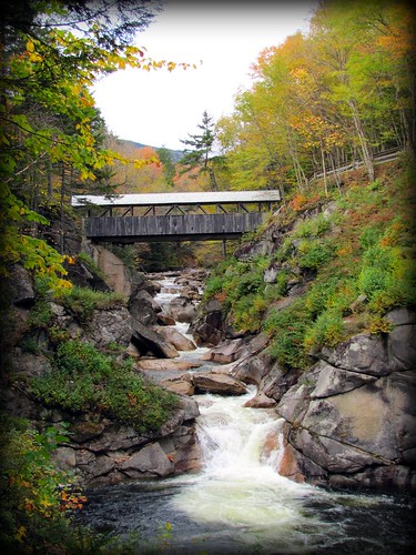 Fall 2010 Sentinel Pine Covered Bridge NH