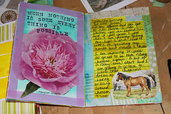 everything is possible (HeatherSB) Tags: collage pages mixedmedia journal