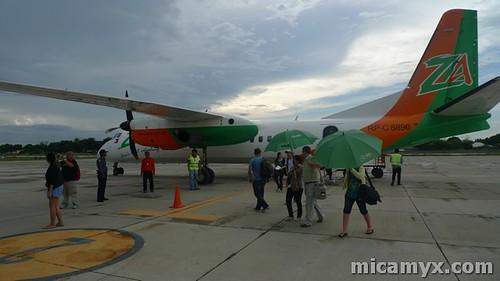 ZestAir flies to San Fernando, La Union!