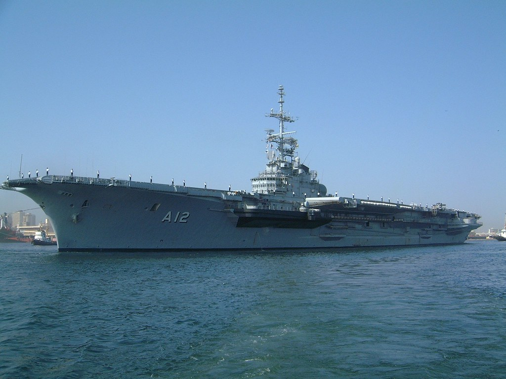 Sao Paulo Aircraft-Carrier (Clemenceau class aircraft carrier)