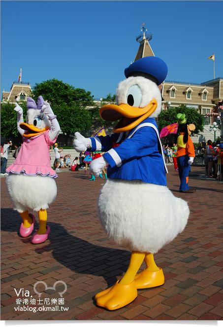 【香港迪士尼】跟著via玩香港(3)~迪士尼卡通人物歡樂巡遊44