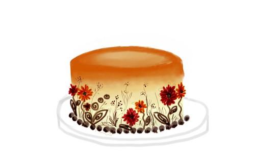 Fall cake 3