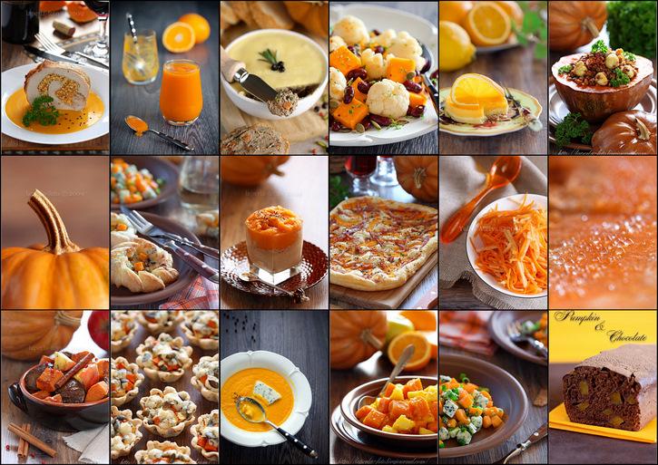 Recipes with Pumpkin 2009-2010