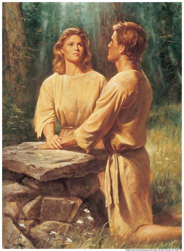 Adam Eve Alter Mormon