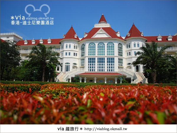 【香港住宿】跟著via玩香港(4)~迪士尼樂園酒店(外觀、房間篇)3