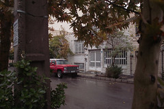 (Сина) Tags: street color rain iran sigma chevy vegetation tehran dp1 saadatabad