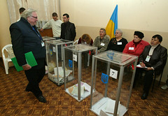 Observation of local elections in Ukraine on 31 October 2010 in Kiev Oblast