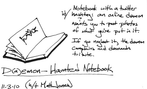 Demon-Haunted Notebook