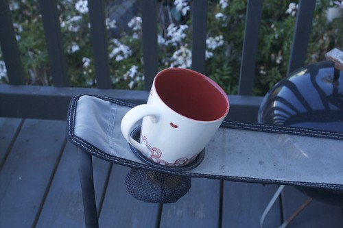 cuppa joe on my porch