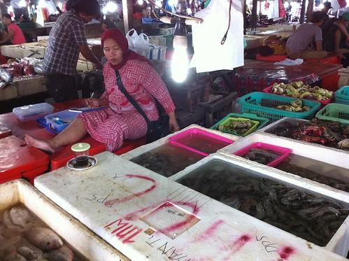 Fish Market, Jimbaran, Bali,