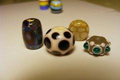 Spotty beads