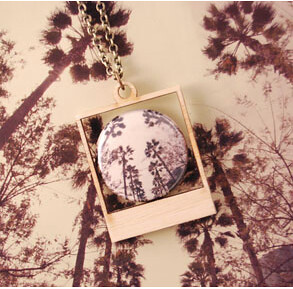 Anaheim Polaroid Necklace