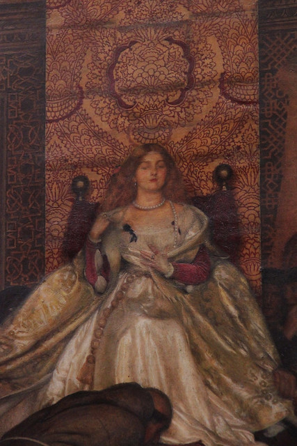 Part of Lucretia Borgia Reignes in the Vatican in the Absence of Pope Alexander VI, Frank Cadogan Cowper, 1914