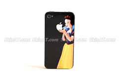 Snow white- iPhone 4 Decal sticker