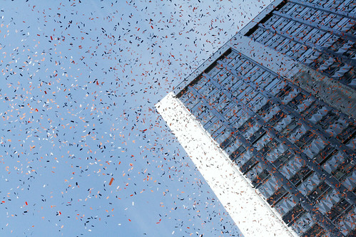 SF Giants Victory Parade: Confetti Rain