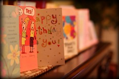 October ! (A N T H O N Y 6 1 3) Tags: cards 50mm october dof celebrate greeting bithday