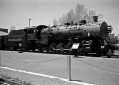 Grand Canyon Railroad #539 (Bob Cummings) Tags: film rangefinder gw690iii fuji acros steam locomotive grand canyon railroad williams arizona
