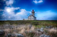 Le phare de Sauzon - belle-île-en-mer (delphine imbert) Tags: ocean atlantique paysage nature phare eau ciel