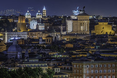 Rome by night (JWY80) Tags: rome roma night longexposure italy italia travel 70300mm d750 nikon tripod altaredellapatria santamariainaracoeli gianicolo sancarloaicatinari santissimatrinitàdeipellegrini trajanscolumn angelicum