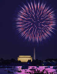 July 4 (Valley Imagery) Tags: independance day usa washington dc 2017 sony a99ii lincoln memorial fireworks