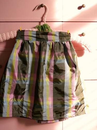 holiday skirt for bigger little one