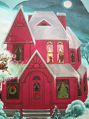 Night before Christmas 365 days of pink (bewitchedmagic) Tags: santa christmas vintage book 1958 nightbeforechristmas retrokids florencesarahwinship midcenturymod