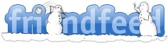 FriendFeed Christmas Logo