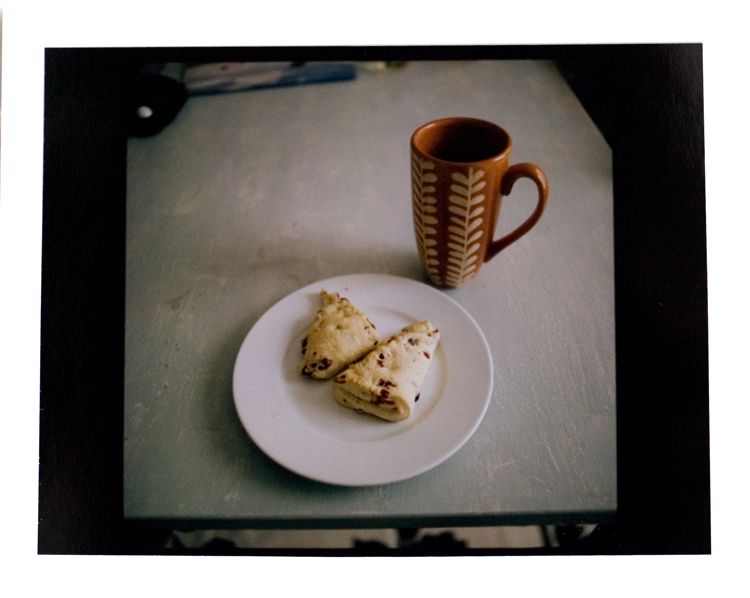 Homemade Scones & French Pressed Coffee