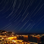 Star Trails over Villefranche sur Mer