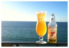 Cerveza Sol (www.juventinojimenez.com) Tags: sol mar cerveza puertovallarta sal iphone jimenez juventino cervezasolmichelada