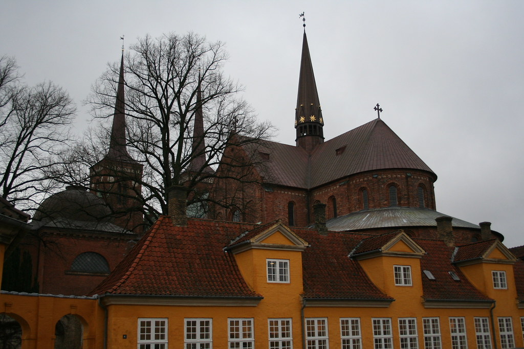 Yellow Castle and Cathedral