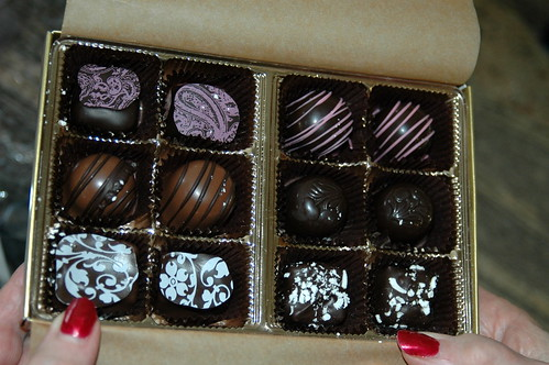 Blackberry Creek chocolates