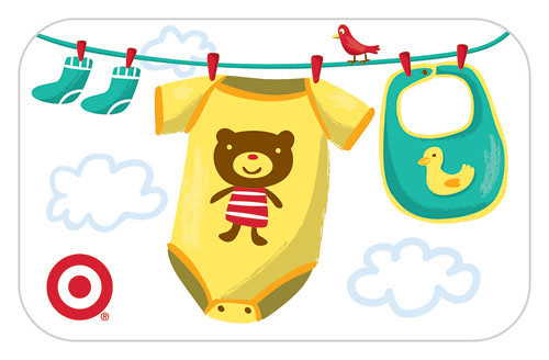Baby Gift card for Target / Jannie Ho