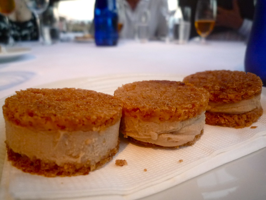 Fois gras gingerbread
