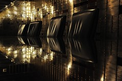The Vault (taraviolet.) Tags: reflections chairs glasstable bankvault yesaphotoofsomethingotherthanapersonstrangeisntit ithoughtthatthisplacewaswonderful ilikeworkingoutofmycomfortzone