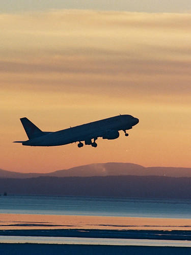 YVR sunset by AEROPLOT