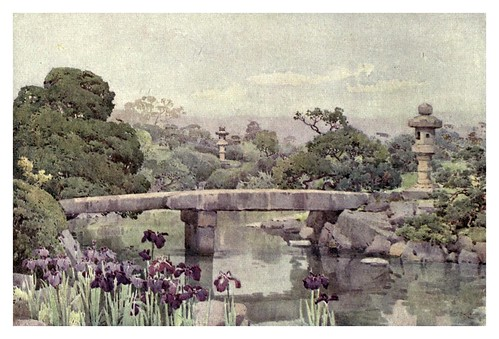 008-Jardin Satake en Tokyo-The flowers and gardens of Japan (1908)-  Ella Du Cane