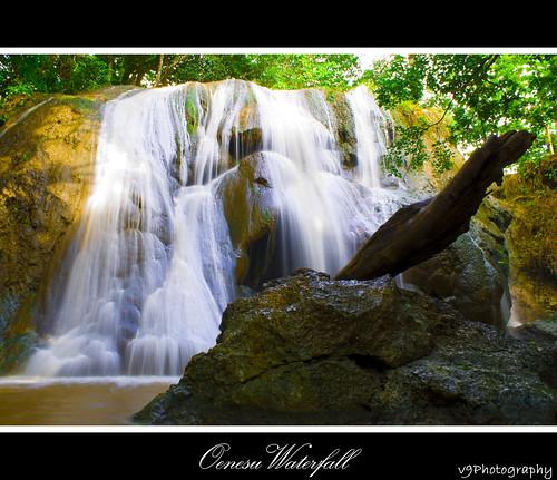 Oenesu Waterfall