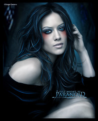 Hillary Duff - Paranoid [Just Might Be...] 6OOO Visitas! ( Sergio Centeno) Tags: me girl beautiful make up is paint gothic hillary draw duff jaja desings excesive eeleeqqtroozzerch