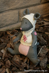 Tilda mouse4 (cub@_libre) Tags: kids toy mouse handmade sewing softie tilda