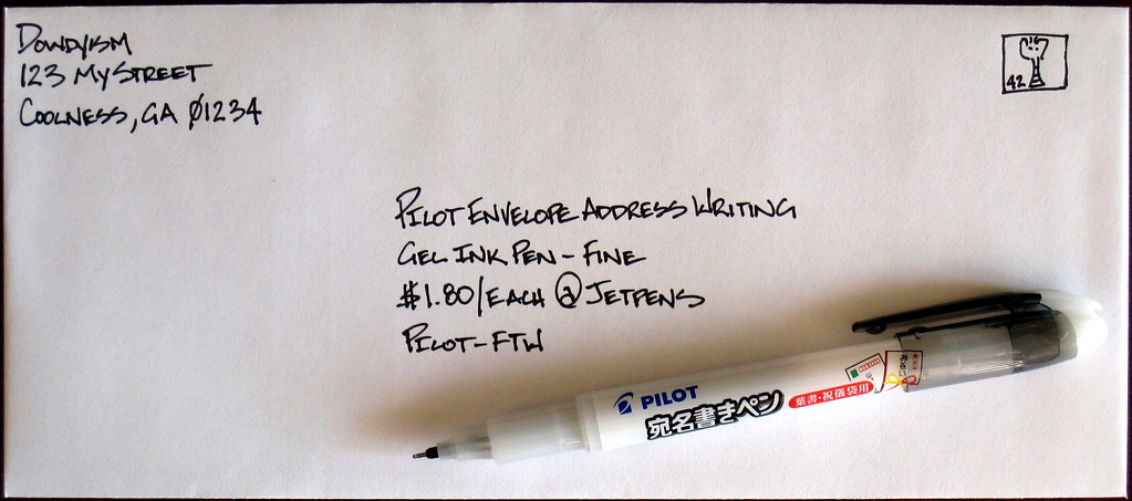 Pilot Envelope Pen