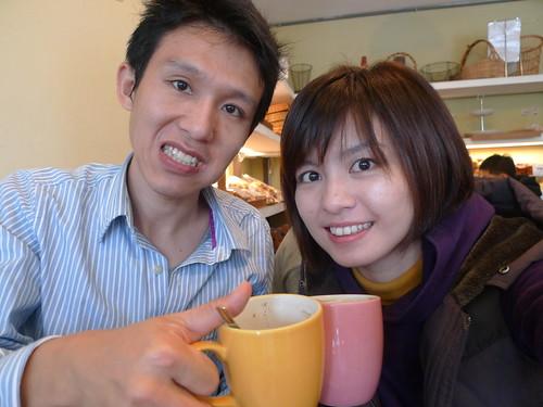 Kelvin&Vivian 拍攝的 吃得真開心!!!。
