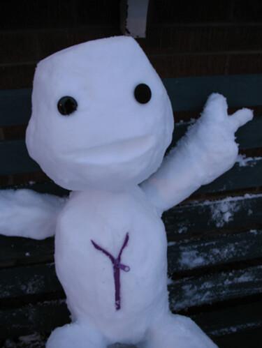 Snowy Sack Boy